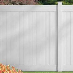 Yardworks 174 6 H X 6 W Belmont White Vinyl Fence Panel From