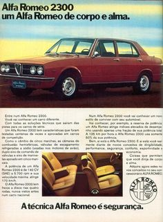 Alfa Romeo 2300 - adv