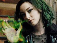 {Lorna Dane} the gifted X Men, Morgana Le Fay, Polaris Marvel, Emma Dumont, Tiefling Bard, Tv Series 2017, Defenders Marvel, Famous In Love, Pretty Names