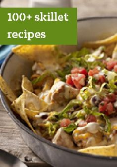 Browse recipes for any time of day with help from Kraft Recipes. Explore our recipes for breakfast, lunch, dinner, snacks, holidays and more. Kraft Recipes, Entree Recipes, Dinner Recipes, Cooking Recipes, Skillet Meals, Skillet Recipes, Skillet Food, Skillet Pan, One Pot Meals