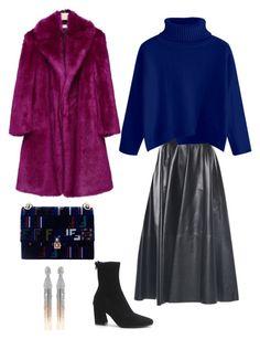9 by natalia-gerasymchuk on Polyvore featuring мода, Fendi and Oscar de la Renta