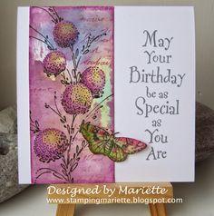 Stamping Mariëtte: Birthday wishes