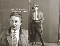 Mugshots of the 1920's