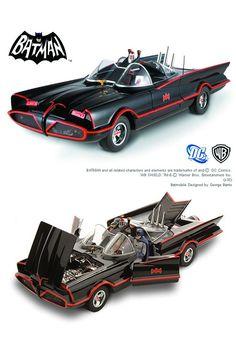 Batman Batmobile, Batman 1966, Batman Art, Batman Robin, Superman, Vintage Toys 1960s, Retro Toys, Batman Tv Show, Batman Universe