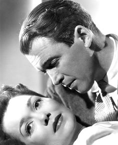 Jane Wyman y James Stewart