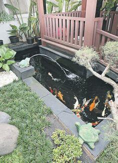 kolam cantik