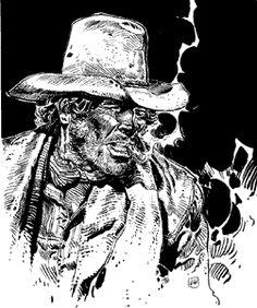 "Graphic Novel/Comic: Blueberry by Jean Giraud ""Moebius"" Jean Giraud, Moebius Artist, Moebius Comics, Nogent Sur Marne, Comic Art, Comic Books, Serpieri, Comic Tutorial, Graphic Novel Art"