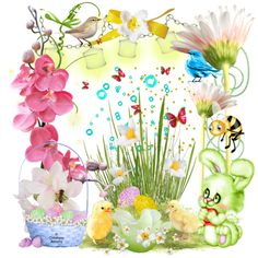 Super Tag Joyeuses Pâques Creations, Happy Easter, Easter Party