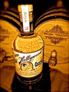 Old Hollywood - Barrel Aged Cocktail  Created by Napa Valley Distillery