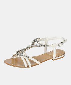 White Ambra Sandal