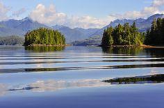 Kanada, Wyspa, Jezioro, Góry