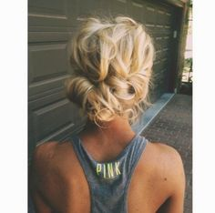 How to Chic: MESSY UPDO