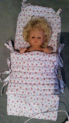 Puppenwagen Fußsack