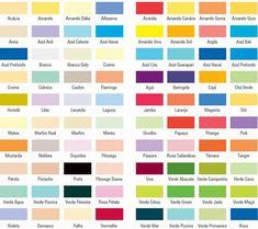 mostruario de cores suvinil - Pesquisa Google Cd Art, Catalogue, Wall Colors, Decoration, All The Colors, Bar Chart, Flamingo, Bali, 1