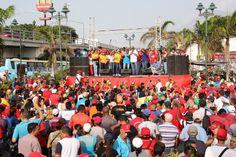 Pre candidatos realizan de manera oficial cierre de campaña en Vargas