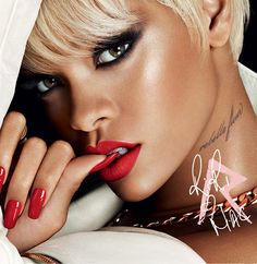 RiRi Hearts MAC for Holiday 2013