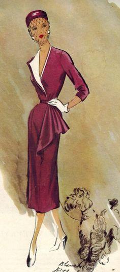 McCall #8341, 1951
