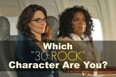 """Which """"30 Rock"""" Character Are You? Liz Lemon apparently."""