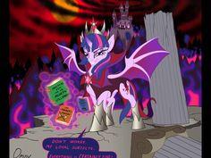 King Sombra and Twilight Slade-Monster
