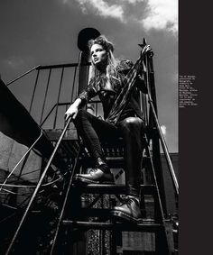 Rebellious Editorials - The Nylon Mexico July 2013 Editorial Proves Punk is Not Dead (GALLERY)