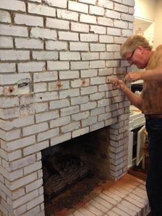 Do you want to install a floating mantle. This is a quick tutorial for how we installed our floating fireplace mantle. Hint - Lag Bolts