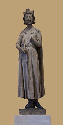 Roi de Paris de 511 à 558 et Roi d'Orléans de 524 à 558. Childebert est le quatrième fils de Clovis et le troisième des quatre que ce dernier eut avec Clotilde.