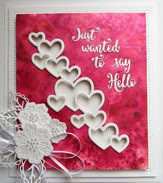 PartiCraft (Participate In Craft): Wednesday Card Giveaway Valentine Love Cards, Spellbinders Cards, Engagement Cards, Heart Cards, Card Making Inspiration, Color Card, Cute Cards, Anniversary Cards, Wedding Cards