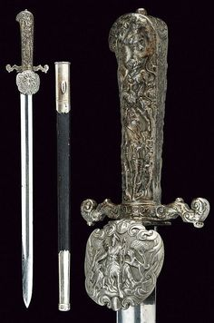 hunting hanger ,  dating: last quarter of the 19th Century   provenance: Germany