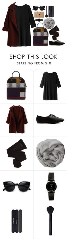 """Oversized Cardi"" by grapecar1015 ❤ liked on Polyvore featuring Burberry, Monki, Ollio, Trasparenze, Brunello Cucinelli, American Apparel, MAC Cosmetics, NARS Cosmetics, Poketo and polyvoreeditorial"