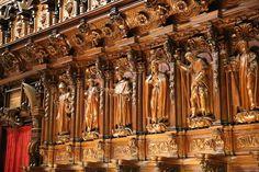 Chór w Katedrze w Maladze