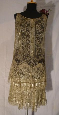 Evening dress ca 1925