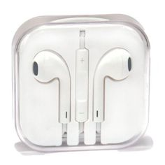 xGen Earpods high quality sound New Design Handsfree Stereo Earphones Earbuds with Remote and Microphone for iPhone 6 plus, iPads, iPods nano competible (White) - Sun Deals Computer Headphones, Cute Headphones, Iphone Headphones, Wireless Headphones, Bose, Tech Accessories, Cell Phone Accessories, Apple Earphones, Buy Apple