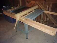 Make a wooden fence for your table saw and save a few bucks fences i took the biesemeyer fence off of my old table saw and installed it on my cabinet saw this unfortunately left my old table saw with out a fence greentooth Image collections