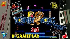 Donkey Kong (NES) Gameplay Fases 1 a 3