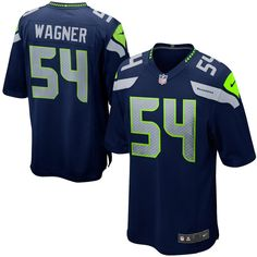 6a0c52399 Youth Seattle Seahawks Bobby Wagner Nike College Navy Team Color Game Jersey