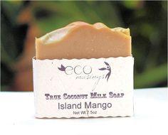 Mango Scented Coconut Milk Soap