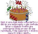 Hoje é uma data muito especial! Feliz aniversário e muitos anos de vida e saúde