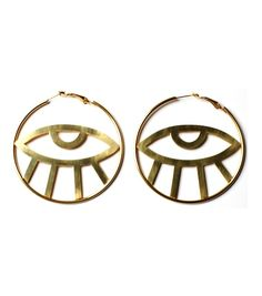 Third Eye Hoop Earrings | By Samii Ryan