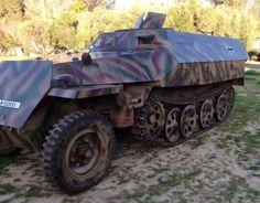 Re-enactors Dream! Excellent External OT-810 Conversion to Sd.kfz.251/1 ausf. D, For Sale!