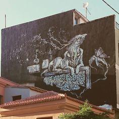 #thestreetsmystreets  #Athens #streetart
