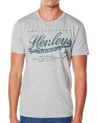 HENLEYS HARDWARE TEE - GREY MARLE on http://www.surfstitch.com