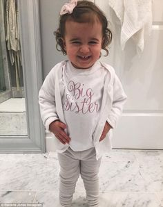 Jonas sister: They also shared an adorable snap of their toddler daughter Alena in a cute T-shirt