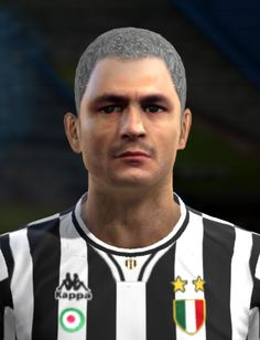 Fabrizio Ravanelli face for Pro Evolution Soccer 2012