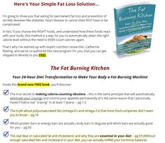 The Fat Burning Kitchen Get your FREE copy today!  Just pay s&h.  Learn how to get your metabolism moving.