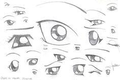 How to draw manga eyes by ~x3mOgirlx on deviantART, how to draw manga eyes, how to draw how to draw manga face, cute kawaii drawing tutorial , how to manga draw eyes , anime eyes, Japanese manga tutorial