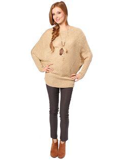 Metallic oversize sweater $27.99  #oversize #sweater