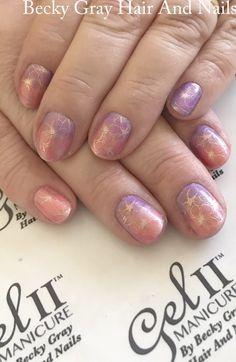 #gelii #manicure #ombrenails #nailart #gel_two #showscratch #scratchmagazine