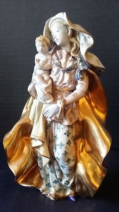 Eugenio Pattarino Epf Ceramic Pottery Madonna Amp Child