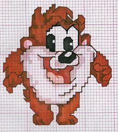 Frozen Cross Stitch, Mini Cross Stitch, Cross Stitch Fabric, Beaded Cross Stitch, Cross Stitch Embroidery, Crochet Skull Patterns, Crochet Patterns Amigurumi, Pixel Art, Pixel Drawing