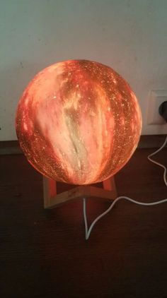 Galaxy Lamp from RomeaDecor.com - We are almost out of stock again! Get yours now or miss out! Only at RomeaDecor.com Bedside Table Lamps, Different Light, Space, Free, Floor Space, Side Table Lamps, Spaces